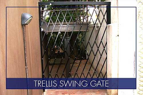 trellis swing gates